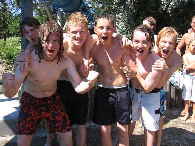 13 year old boys