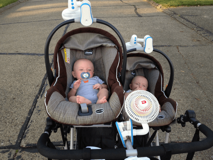 Best Stroller Fan Keep Your Kids From Overheating Tiny Fry